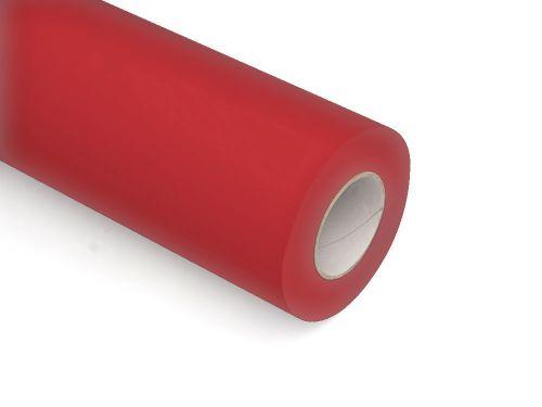 Folie samoprzylepne ploterowe monomerowe w połysku AV519 czerwony