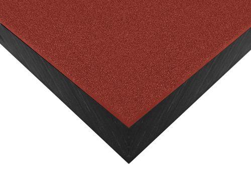 Płyty polietylenowe lite, struktura antypoślizgowa grain czerwony