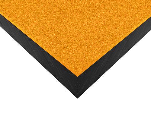 Płyty polietylenowe lite, struktura antypoślizgowa grain żółty