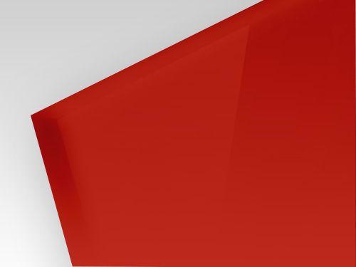 Płyty HIPS czerwony 1mm