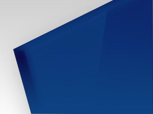 HIPS niebieski 2 mm