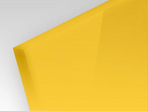 HIPS żółty 2 mm