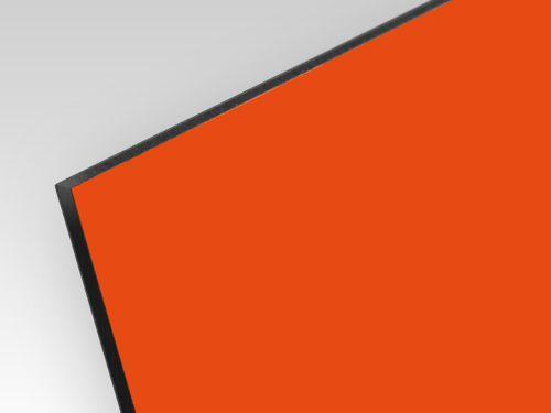 Płyty kompozyt reklamowy dwustronne pomarańczowy 3 mm