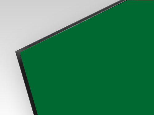 Kompozyt reklamowy dwustronny zielony / biały 3 mm