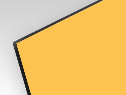 Kompozyt reklamowy dwustronny żółty / żółty 3 mm