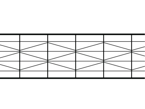 Poliwęglan kanalikowy bezbarwny 25 mm / 9X