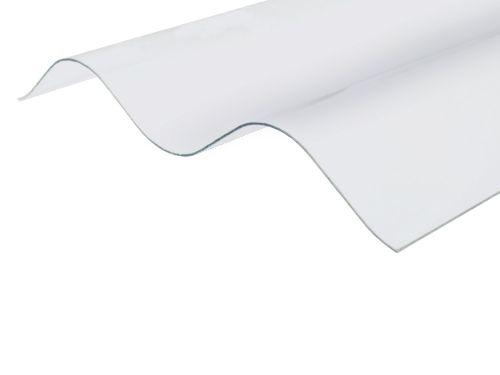 Ecolux PCW profilowane faliste bezbarwne 94 / 35