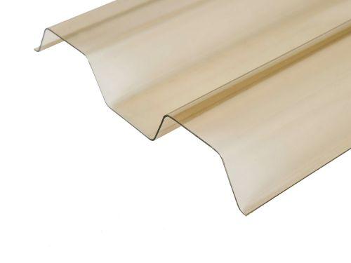 Ecolux PCW profilowane trapez brązowe 70 / 18