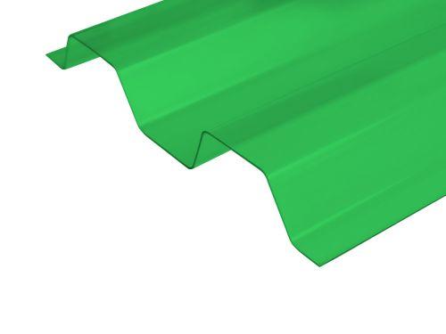 ECOLUX kolory trapez 70/18 transparentny zielony