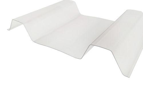 Sollux PCW profilowane trapez bezbarwne 130 / 20