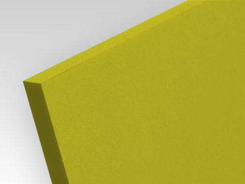 Płyty PCW spienione standard żółty 5 mm