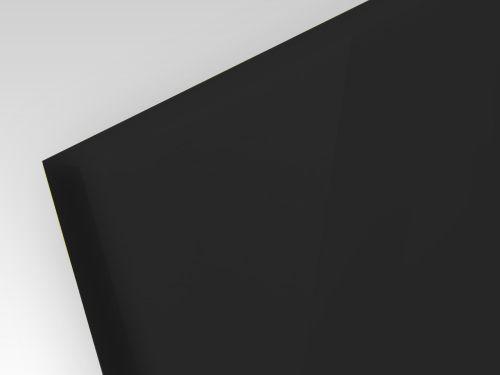 Płyty akrylowe ekstrudowane pryzma kolor czarny 2 mm