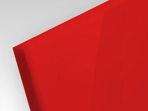 Płyty akrylowe ekstrudowane kolor czerwony 3 mm