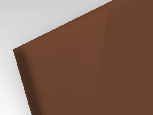 Plexi dymione brązowe 3 mm