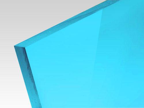 Płyty akrylowe wylewane kolory fluo niebieski 3 mm