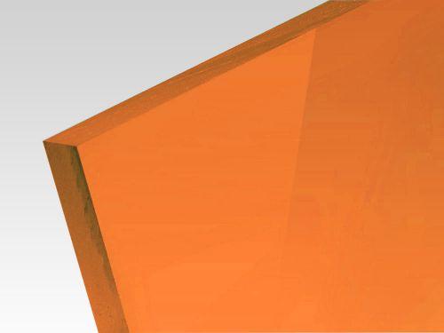 Płyty akrylowe wylewane kolory fluo pomarańczowy 3 mm