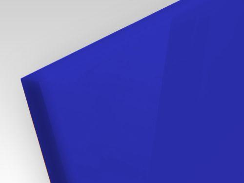 Płyty akrylowe wylewane kolory opaque granatowy