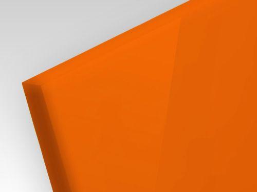 Płyty akrylowe ekstrudowane kolor pomarańczowy 3 mm