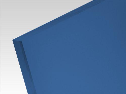 Płyty akrylowe wylewane kolory translucentne ciemny niebieski 3 mm
