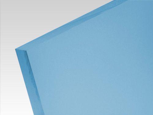 Płyty akrylowe wylewane kolory translucentne jasny niebieski 3 mm