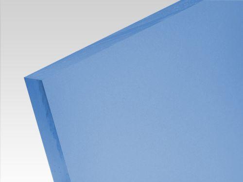 Płyty akrylowe wylewane kolory translucentne niebieski 3 mm