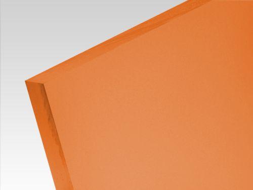 Płyty akrylowe wylewane kolory translucentne pomarańczowy 3 mm
