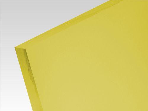 Płyty akrylowe wylewane kolory translucentne żółty 3 mm