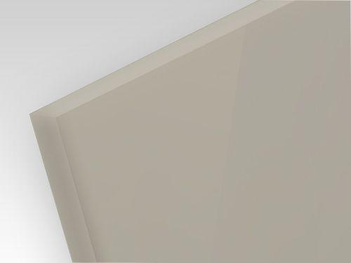 Płyty polipropylenowe lite, struktura gładka PP-H szary 15 mm
