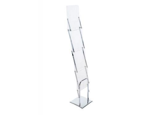 Stojaki na ulotki Multistand ZED-UP 2 A4 z aluminiową walizką