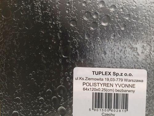 Polistyren yvonne bezbarwny 2,5 mm