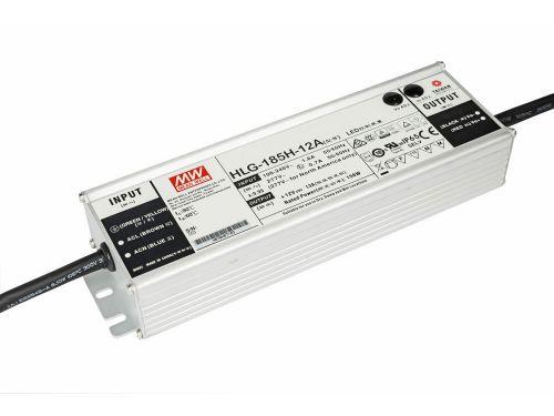 LED zasilacze zewnętrzne 185W