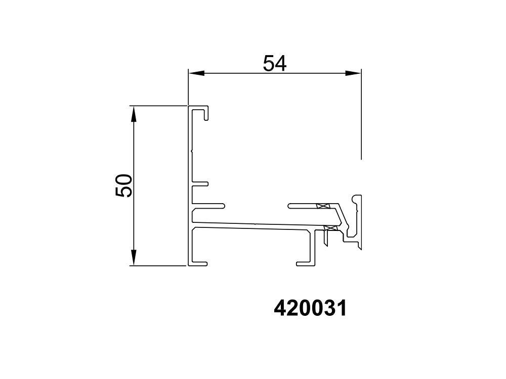 Profil dolny 420031