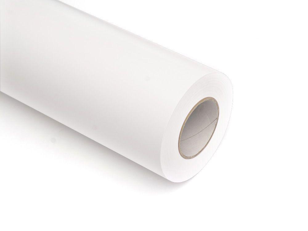 Folie samoprzylepne ploterowe monomerowe w połysku AV501 biały