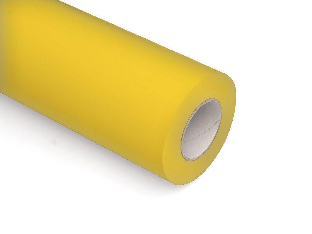 Folie samoprzylepne ploterowe monomerowe w połysku AV504 żółty