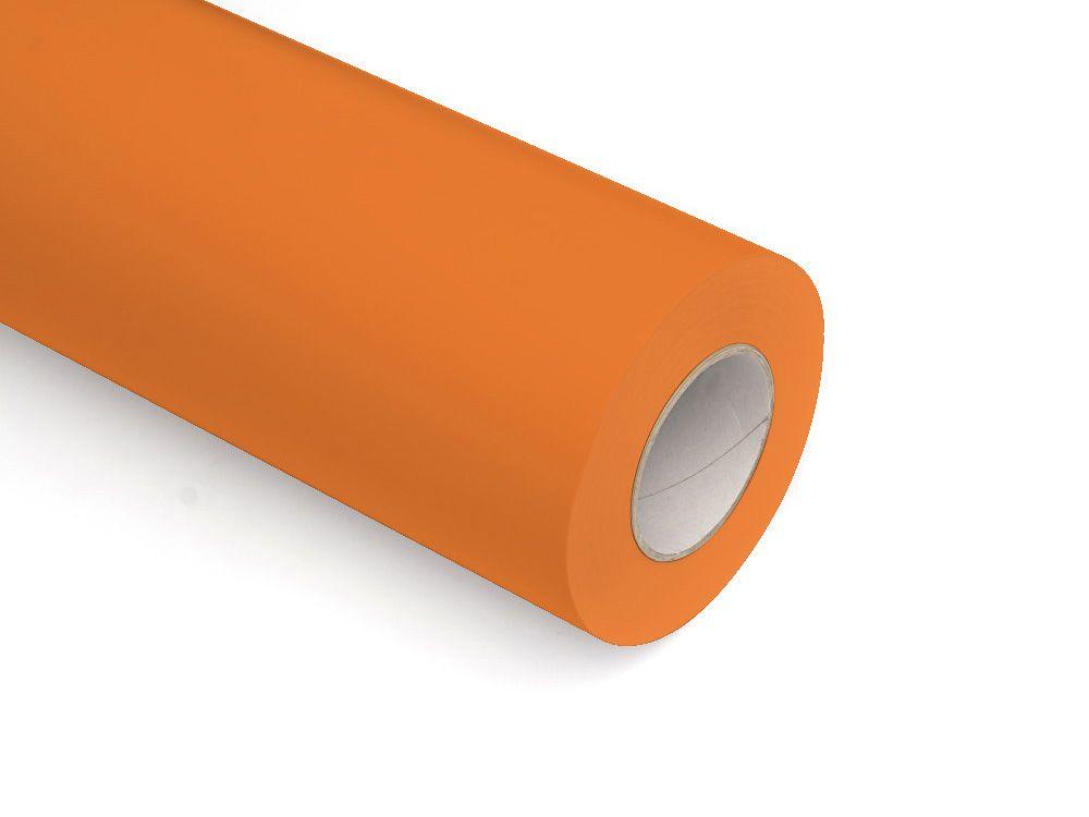 Folie samoprzylepne ploterowe monomerowe matowe AV509 pomarańczowy