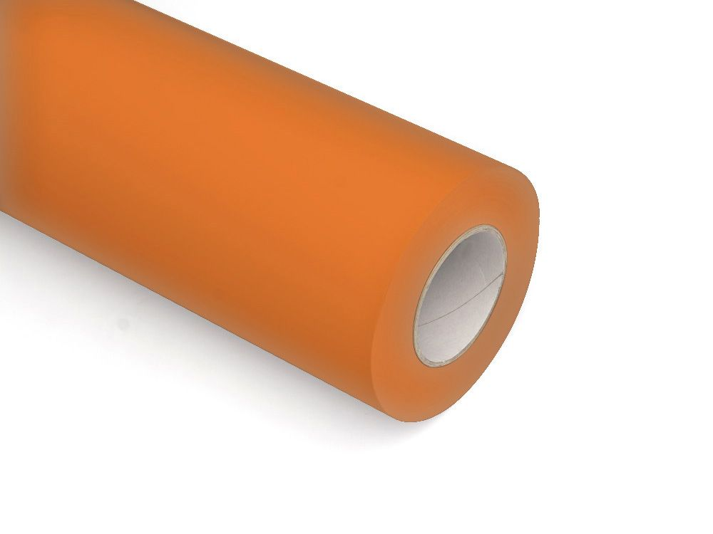 Folie samoprzylepne ploterowe monomerowe w połysku AV509 pomarańczowy