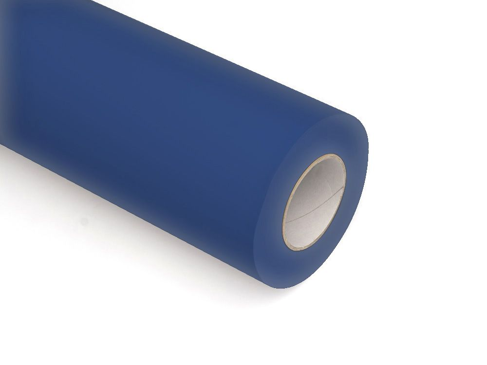 Folie samoprzylepne ploterowe monomerowe w połysku AV520 ciemny niebieski