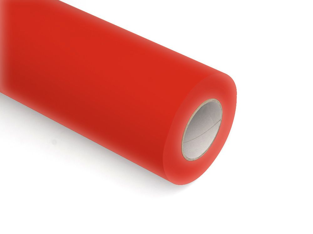 Folie samoprzylepne ploterowe monomerowe w połysku AV523 czerwony