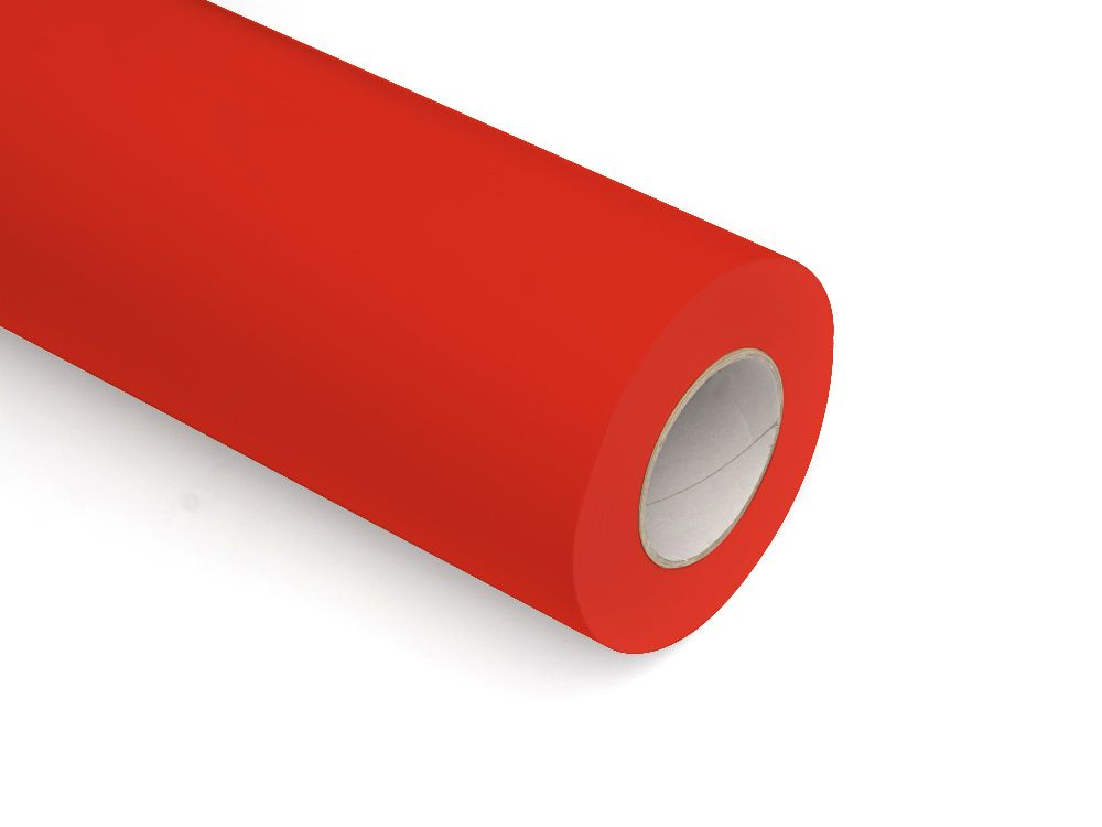 Folie samoprzylepne ploterowe monomerowe AV523 matowe czerwony