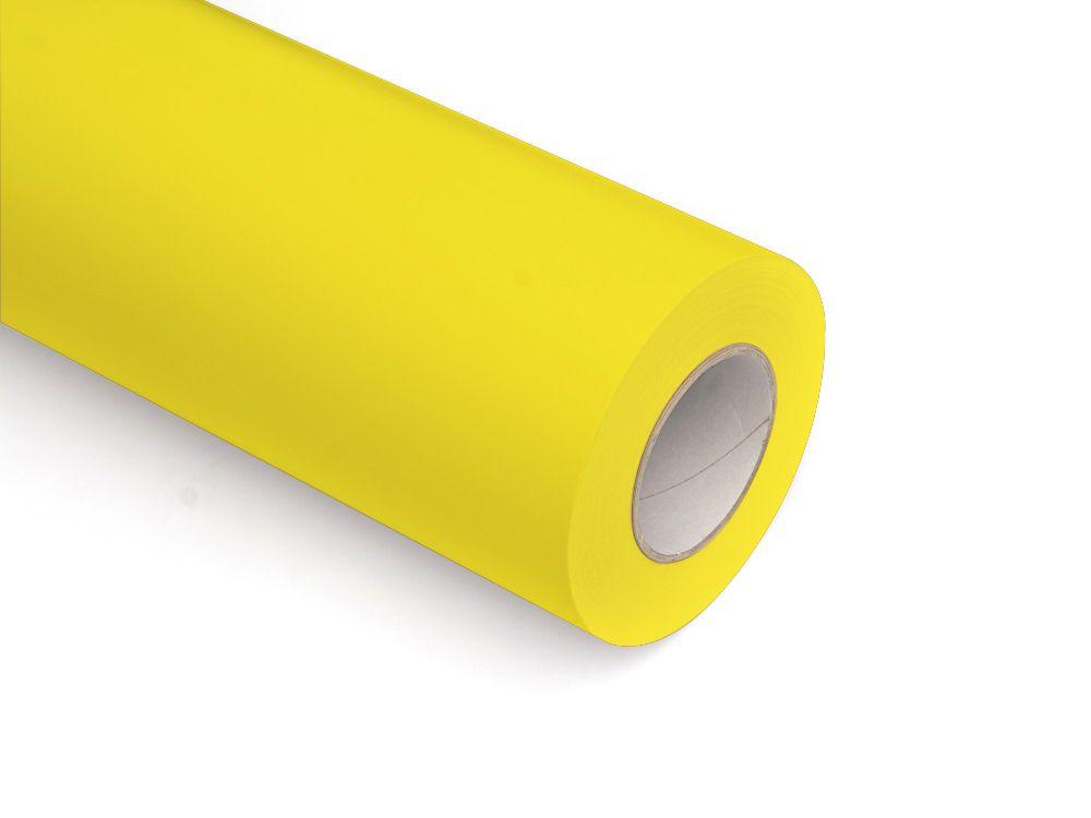 Folie samoprzylepne ploterowe monomerowe matowe AV525 jasny żółty