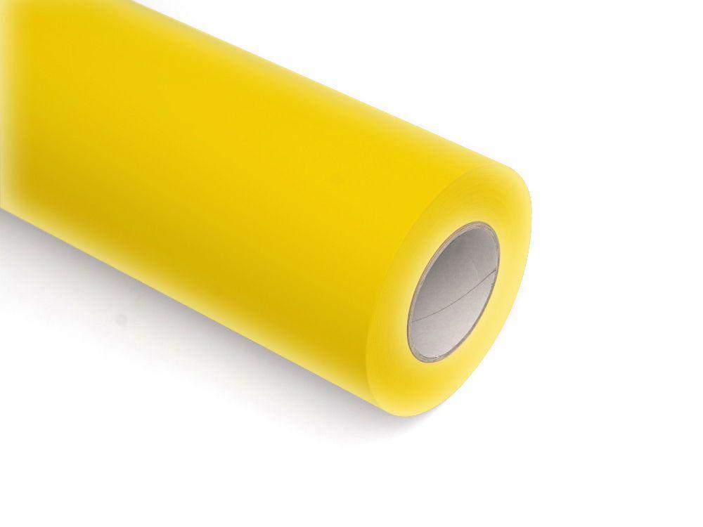 Folie samoprzylepne ploterowe monomerowe w połysku AV527 żółty