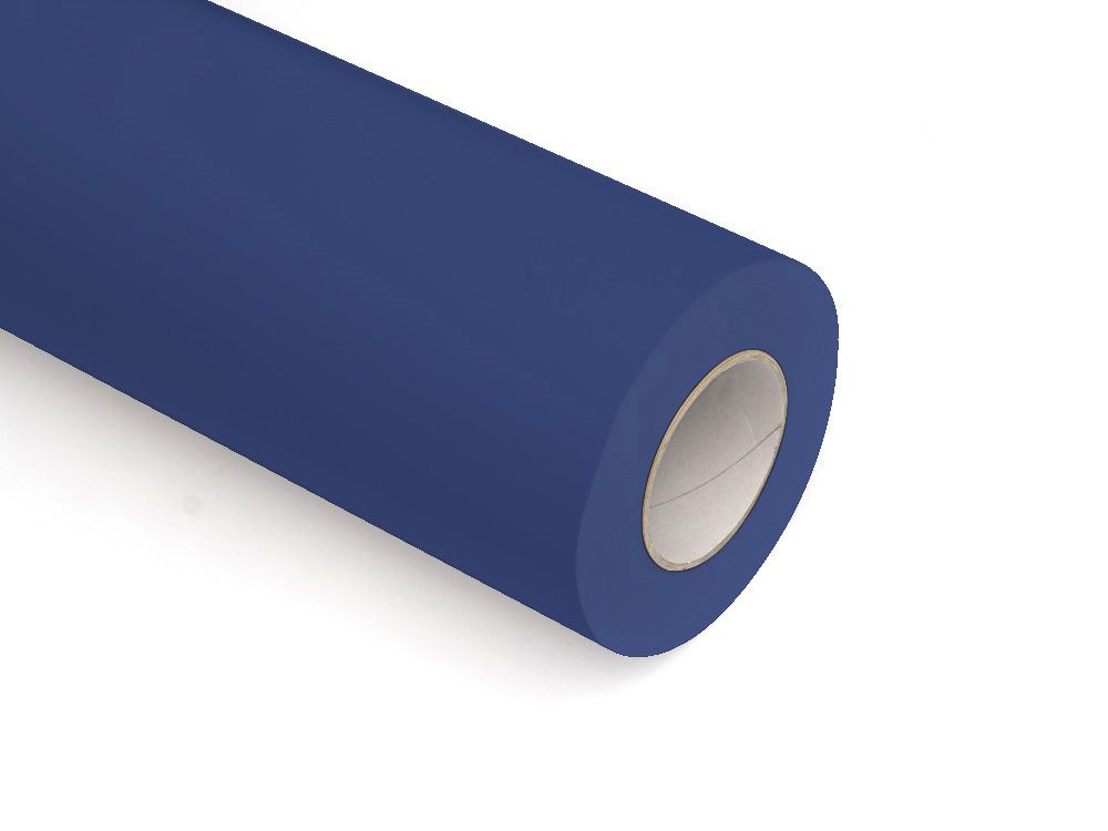 Folie samoprzylepne ploterowe monomerowe matowe AV528 ciemny niebieski