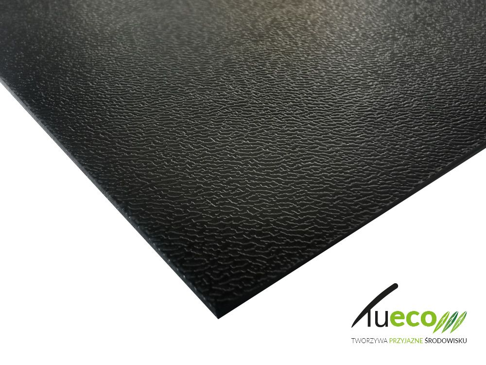 Płyty ABS regranulat czarny 2mm