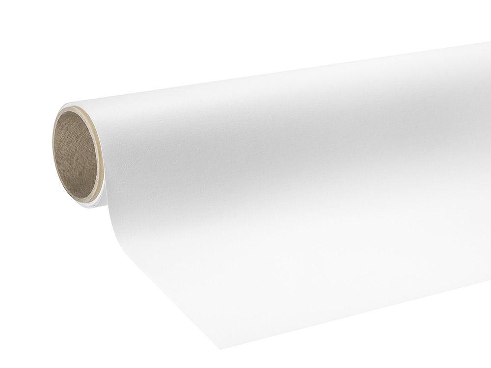 Folie samoprzylepne do zadruku polimerowe z klejem stałym połysk