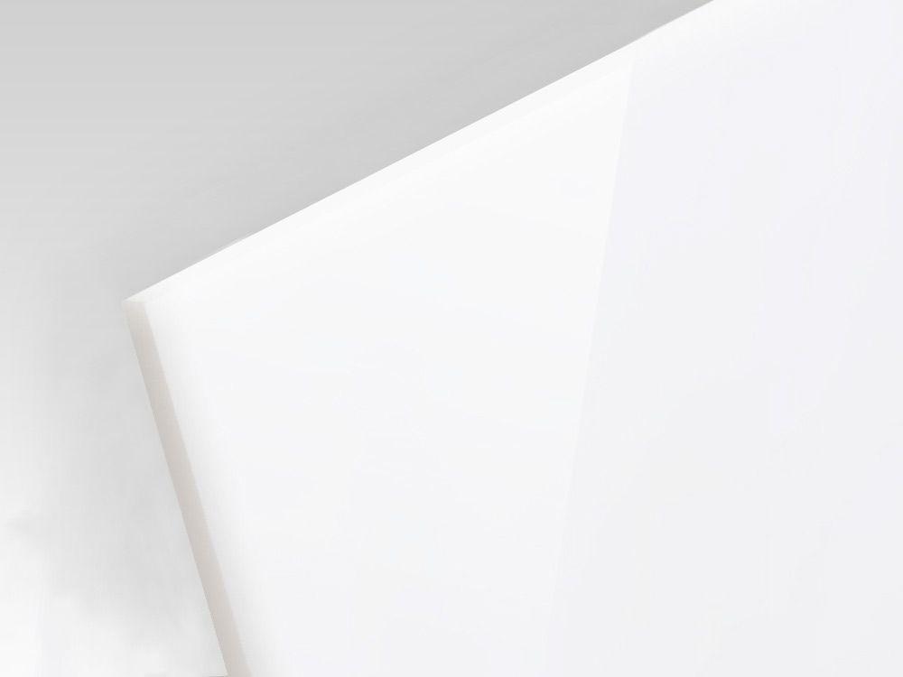 Płyty polietylenowe lite struktura gładka kolor naturalny 8 mm