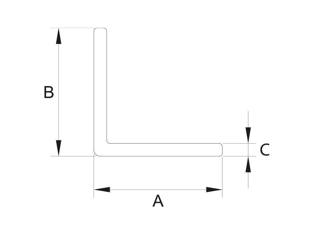 Kątownik równoramienny 20x20x2