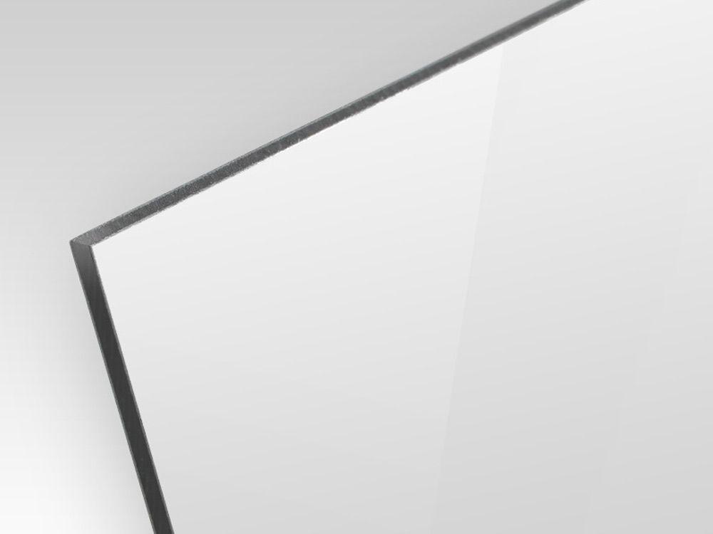 Kompozyt reklamowy dwustronny biały / srebrny 2 mm