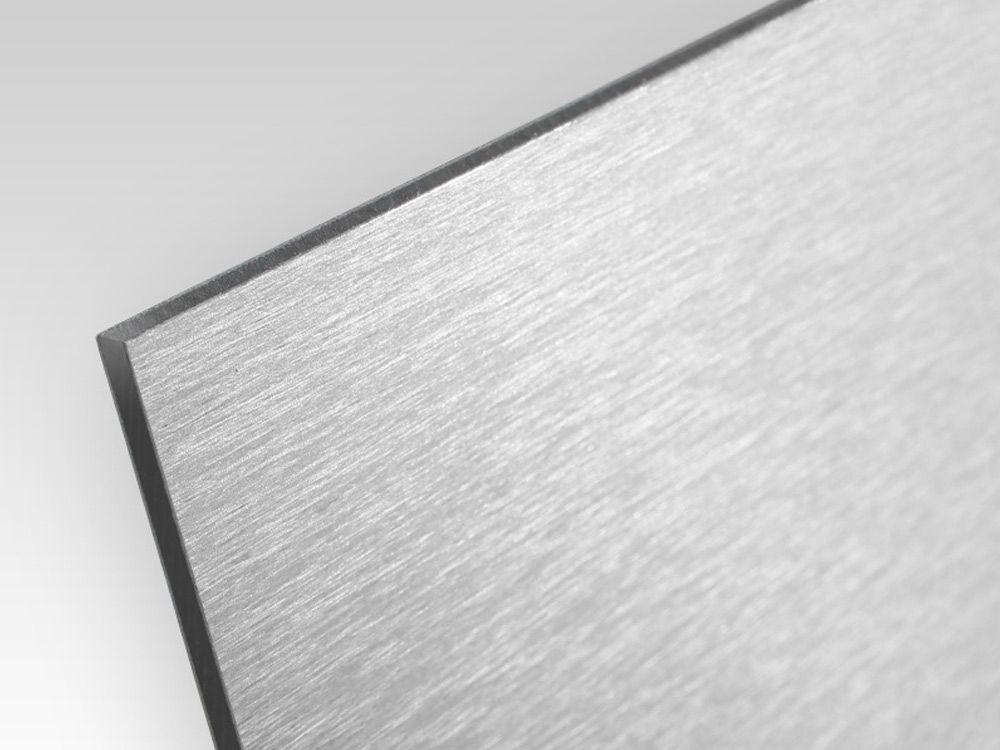 Płyty kompozyt reklamowy jednostronny szczotkowany srebrny 3 mm