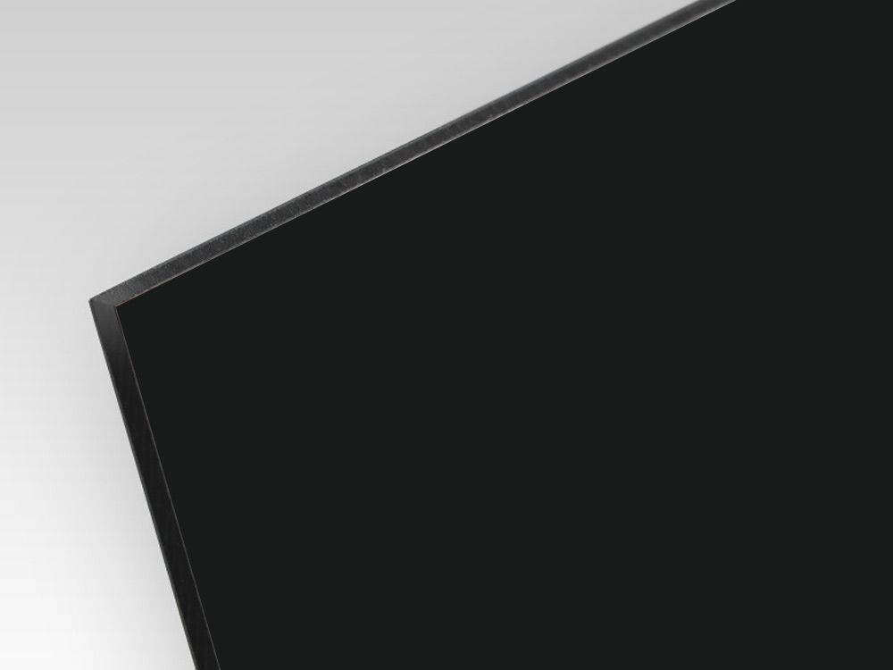 Kompozyt reklamowy dwustronny czarny / srebrny 3 mm