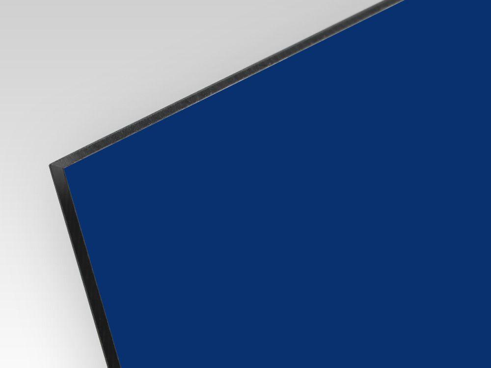 Płyty kompozyt reklamowy dwustronne niebieski 3 mm